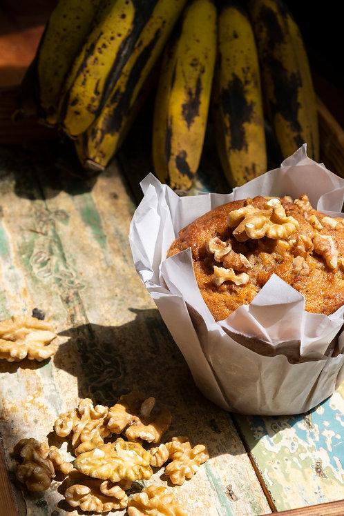 Muffin de Banana Y Nuez