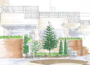 植栽の提案 ~アプローチ~| 園舎の設計