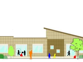 まもなく完成|園舎の設計