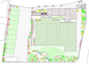 植栽の提案 ~小さな園庭~| 園舎の設計