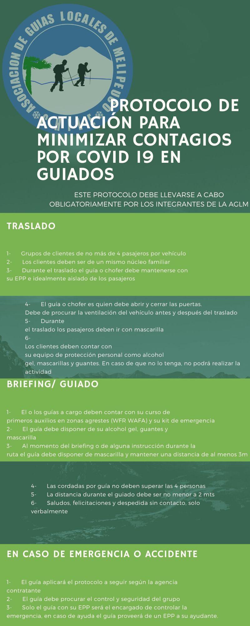 protocolo asociacion de guias locales de melipeuco