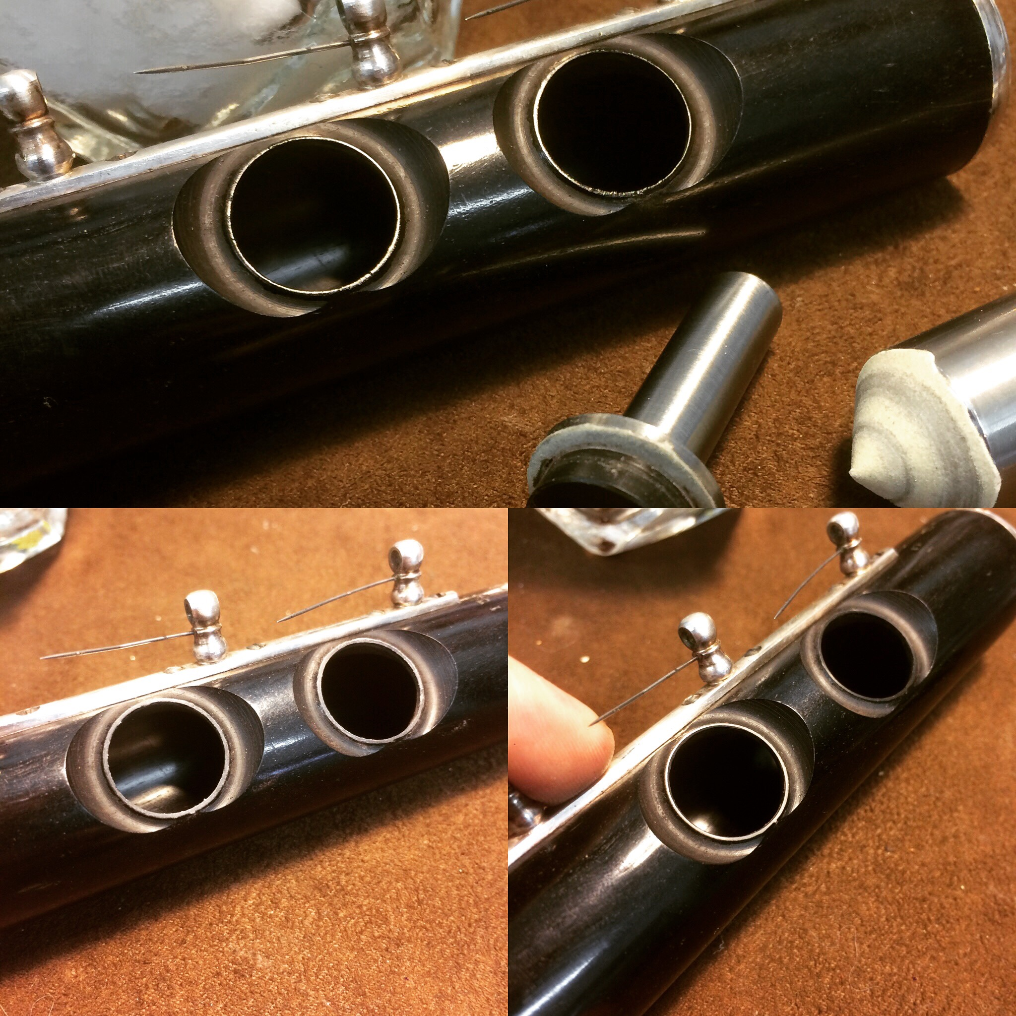 Wood Tonehole Repair