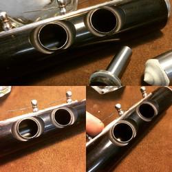Wood Tonehole Repair