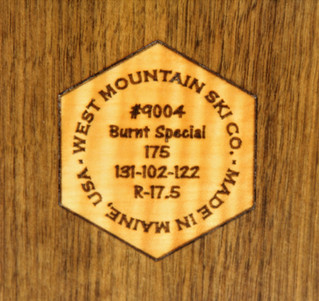 WMSC medallion curly maple in walnut