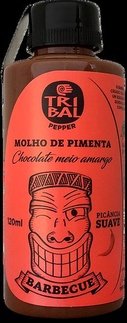 MOLHO BBQ COM CHOCOLATE 120ML
