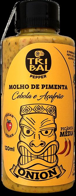 MOLHO COM AÇAFRÃO 120ML