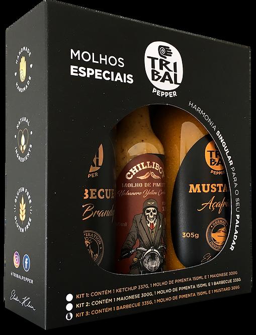 MOLHOS ESPECIAIS TRIBAL KIT 3