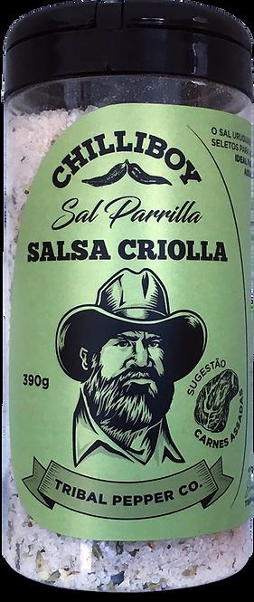 SAL PARRILLA SALSA CRIOLLA 390G