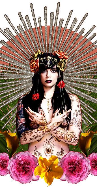 Photo and Digital art Will White Model Cat singer @Derange Makeup Danielle Hudson