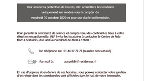Informations Locataires COVID-19