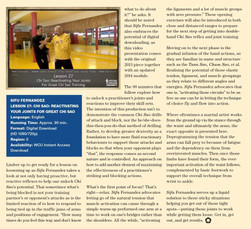 WCI Review - Issue 22b - Sifu Fernandez