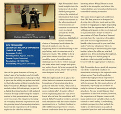 WCI Review - Issue 19a - Sifu Fernandez