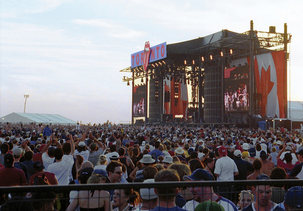 On a hot July day, crowds were treated to 11 hours of rock