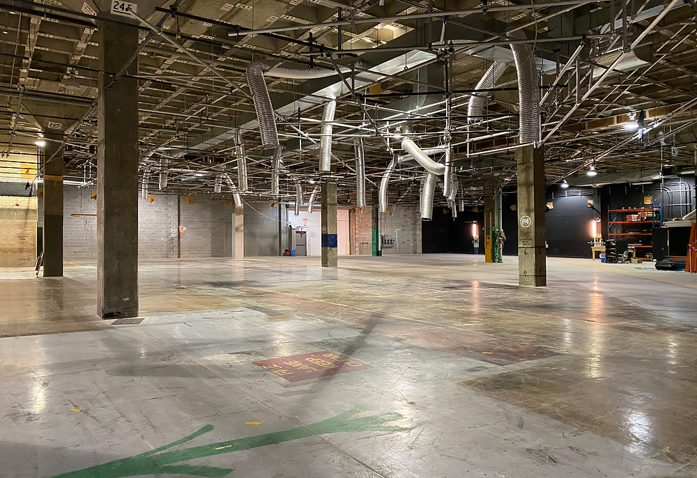 Inside the vast Downsview Supply Depot at 40 Carl Hall Road