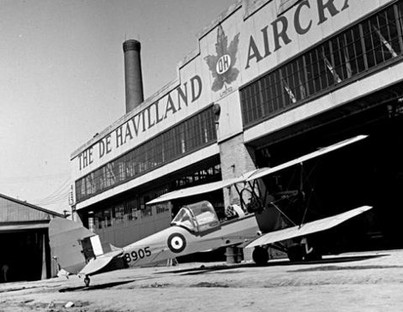 There is a long history of airplane manufacturing on the site