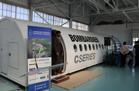 The site houses the Downsview Aerospace Innovation & Research Hub