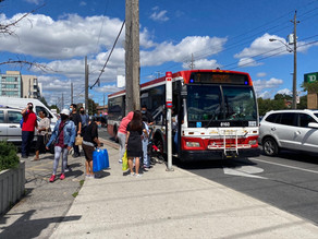 Many people rely on doing daily errands on transit or walking, even though it may involve transferring busses or walking more than 15 mins in all seasons with large bags, buggies, or kids.