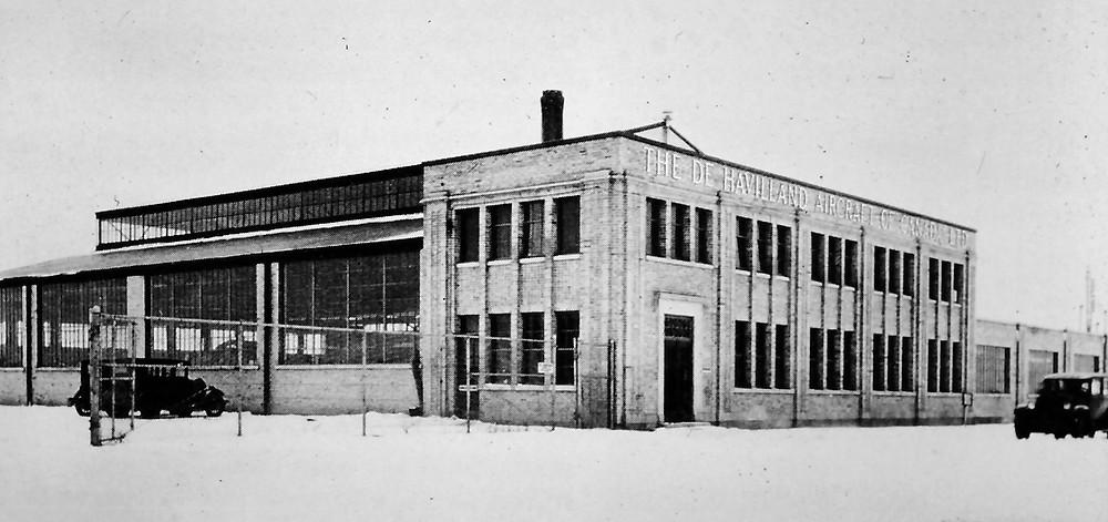 The first de Havilland facility at 65 Carl Hall Road