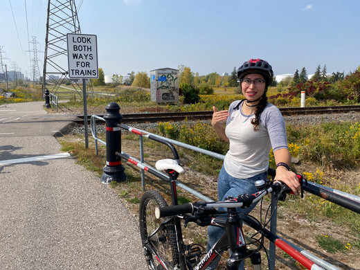 Local bike mechanic and York Cycle Regenesis organizer, Danny, led the id8downsview team on a ride to showcase challenges and benefits of cycling in the area.