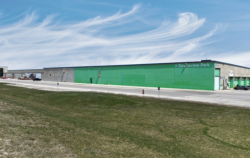 Created for the military, the Downsview Supply Depot currently provides space for film studios, the Merchants Market, and Downsview Park, among others