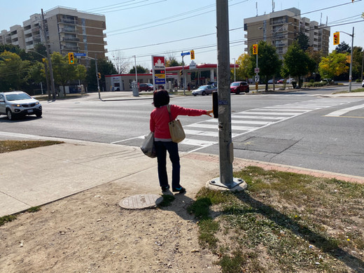 """Long waits at crossings are confusing and dangerous.  Signals don't give the """"go"""" to pedestrians unless they push the button. This leads to delayed starts, missed crossings, and crossing against the light."""