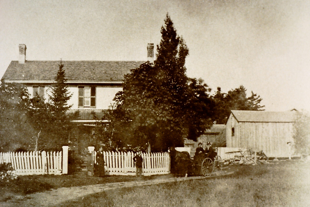 """The Boake Family's """"Locust Lodge"""" in Downsview by Keele Street"""