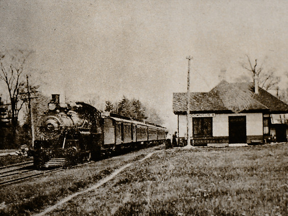 The Railroad Comes to Downsview