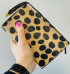 "New! Trish McEvoy ""Day to Night"" Vegan Cheetah Bag!"