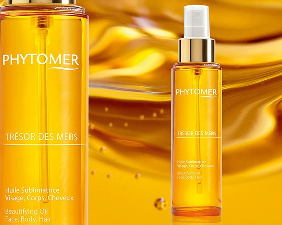 Tresor Des Mers Beautifying Oil for Face, Hair, + Body!