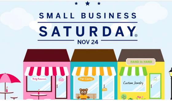 Shop Small Saturday, November 24