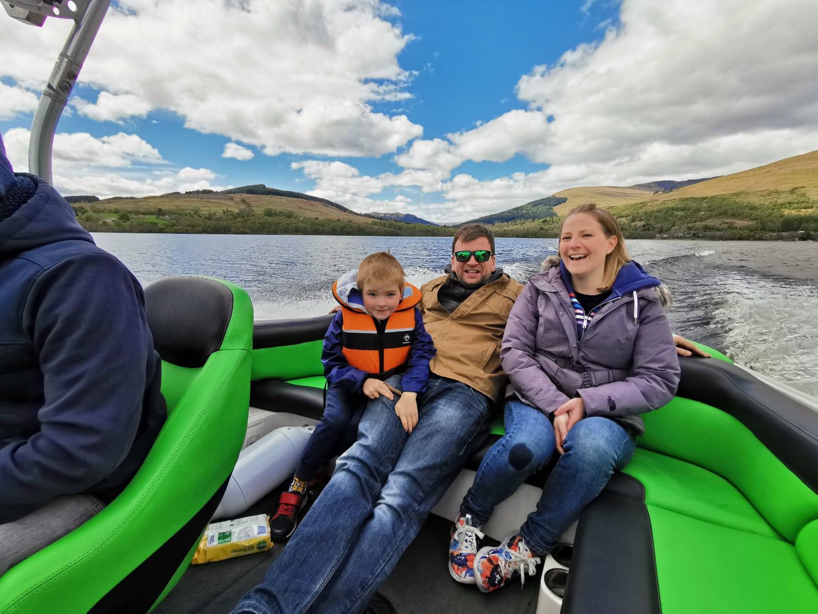 30 minute Speed boat trip