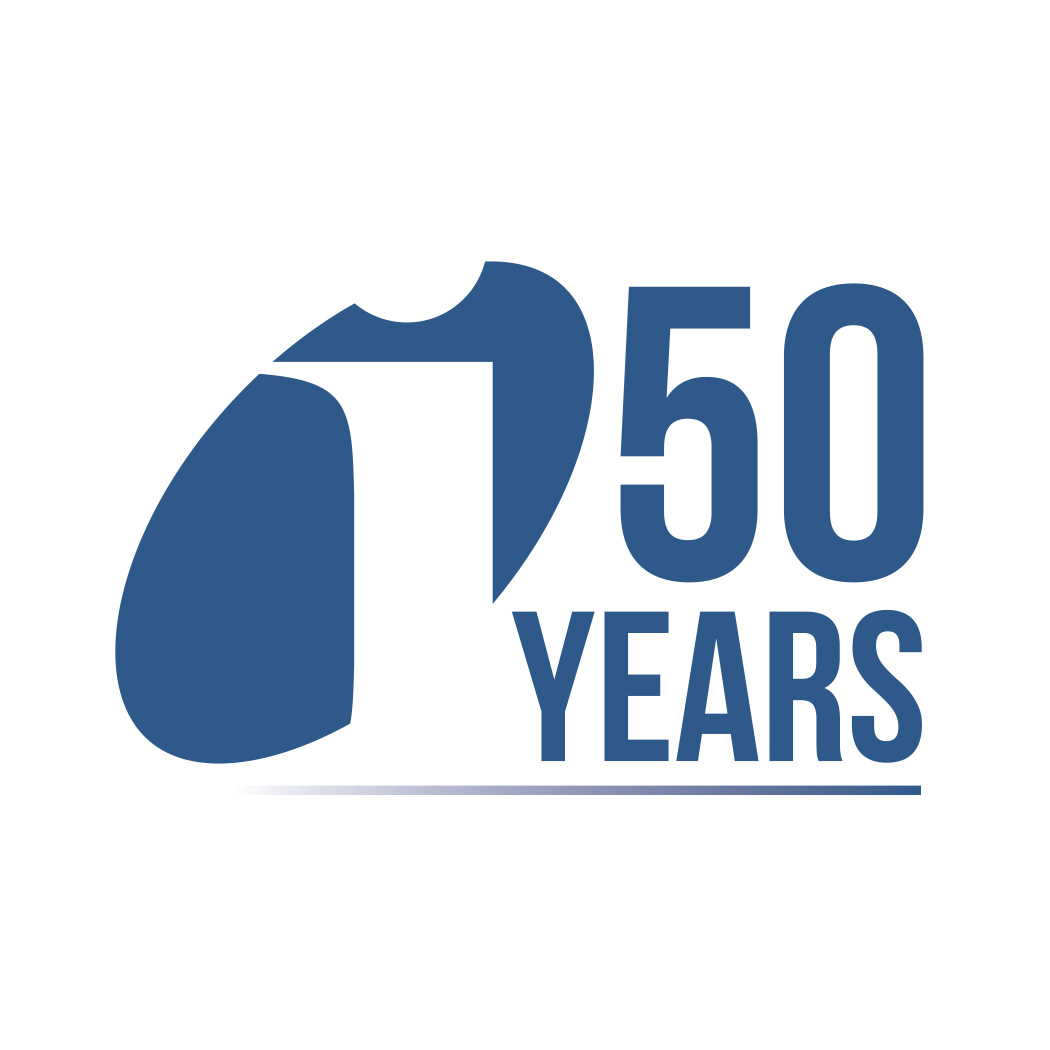 Inficon 50th Anniversary Logo