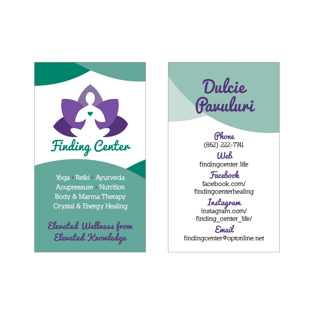 Finding Center Business Cards