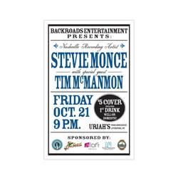 Stevie Monce Poster
