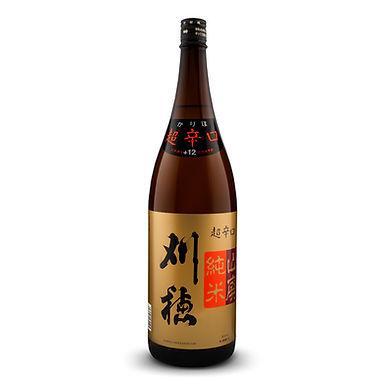 Kariho chō karakuchi yamahai junmai+12 1800ML