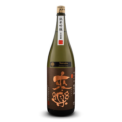 Rairaku Junmai-Ginjo 15% 1800ML