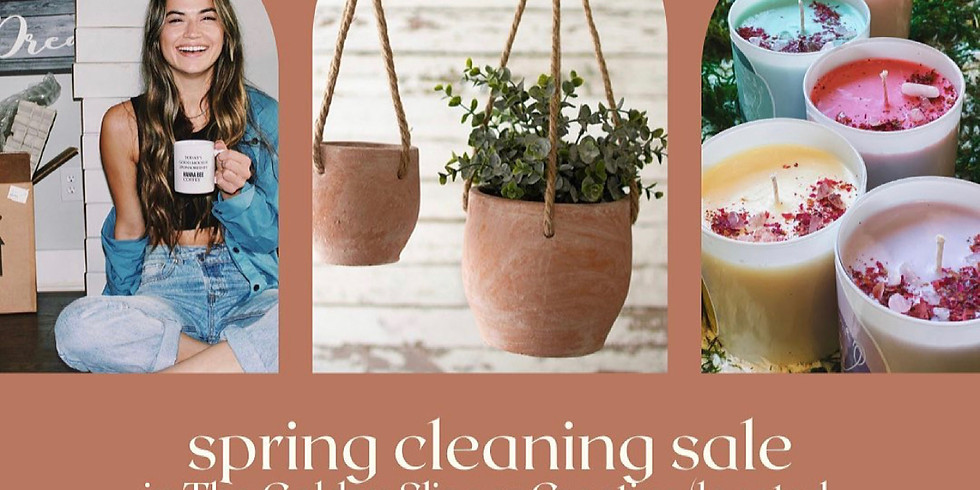 Spring Cleaning Pop Up Sale At The Golden Slipper