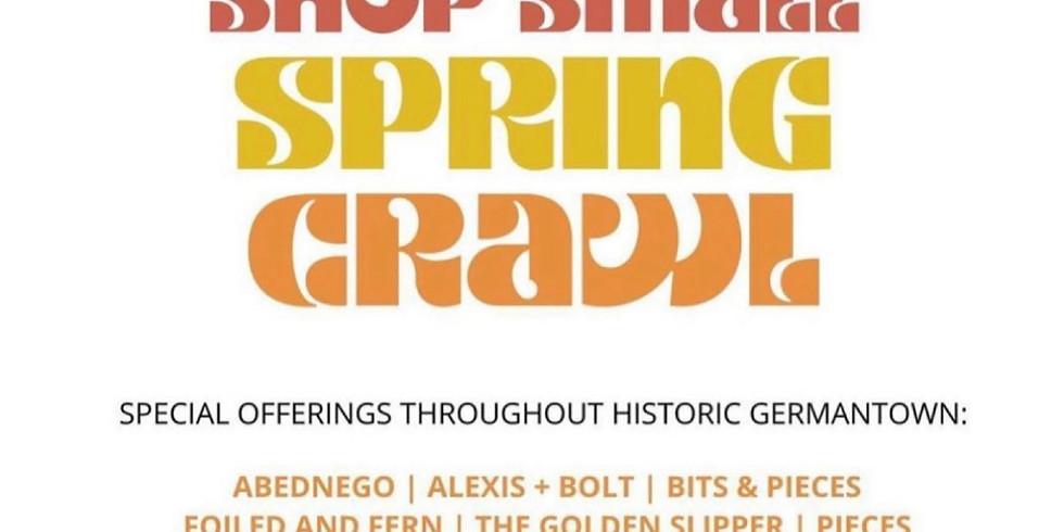Shop Small Spring Crawl