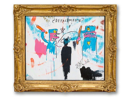 Jean-Michel Basquiat Defacement (The Death of Michael Stewart), 1983