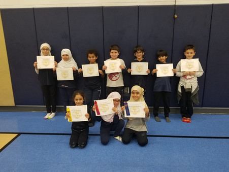 Second-grade competes in first ever Arabic Spelling Bee