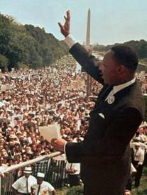Martin Luther King Jr in Washington D.C.