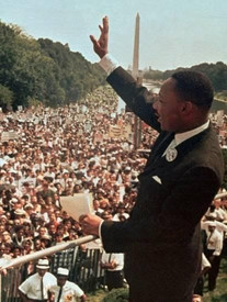 Martin Luther King Jr in Washington D.C.