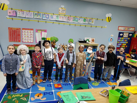 Lower elementary, preschool and daycare classes celebrate 100 days of school