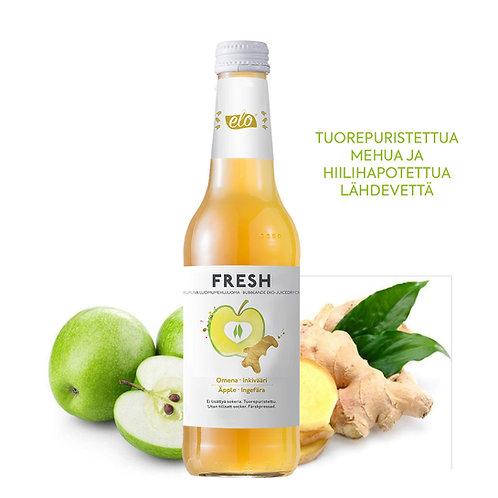 ELO FRESH Organic Apple-Ginger 330ml x 12