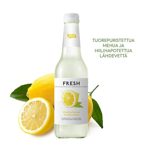 ELO FRESH Organic Lemon 12 x 330ml