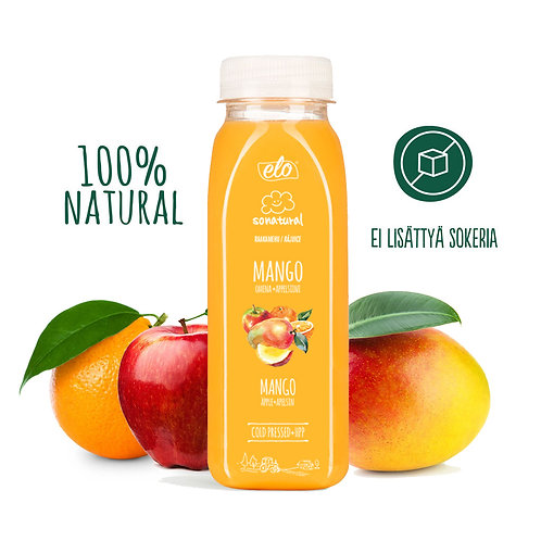 ELO Sonatural Mango  juice 250ml x 6