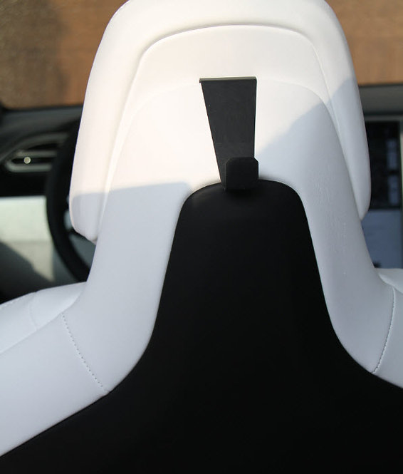 Tesla Model S Model X Performance Seat Coat Hook