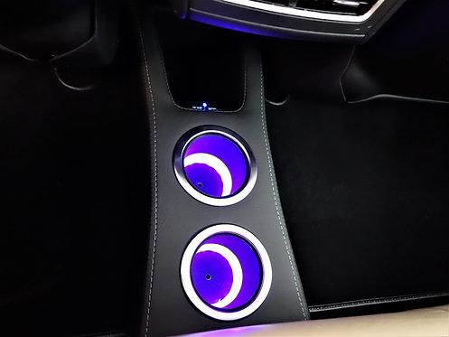 Ludicrous Rear Console (2012-16 Tesla Model S)