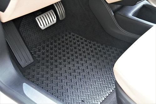 Tesla Model S All Weather Floor Mats Driver