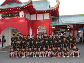 江ノ島キャンプ(サッカーU13)